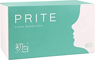 Facial Cotton Tissue Towel, Soft Facial Tissues Dry Wipes for Dry and Wet Use, Cleansing Towelettes for Makeup Remover, Ti...