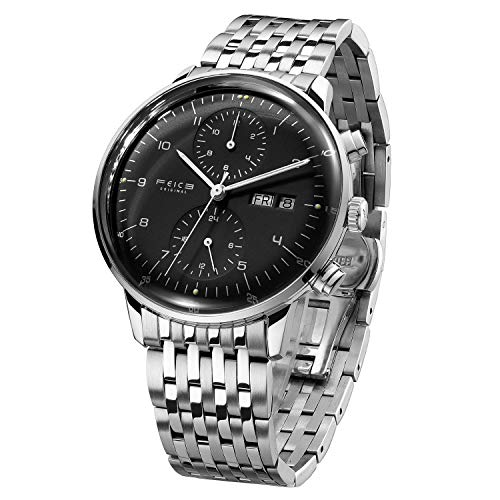 Best Mechanical Watches Under 500 - FEICE Men's Automatic Watch