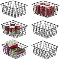 6-Pack Veckle Metal Wire Baskets