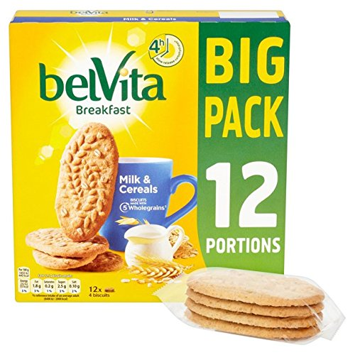 Belvita Milk & Cereal Big Pack 12 x 50g