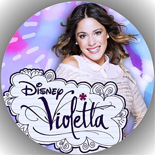 Premium Esspapier Tortenaufleger Geburtstag Violetta T1