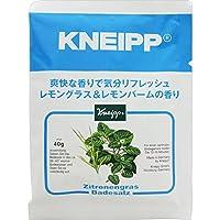 クナイプ・ジャパン クナイプバスソルト レモングラス&レモンバーム 40g