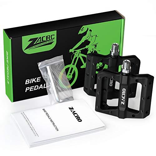 Zacro Mountain Bike Pedal Nylon BMX Pedals 9/16