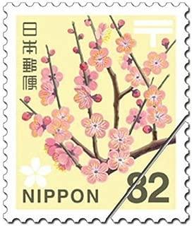 00-2645/日本郵便 82円切手 【100枚組】 ウメ