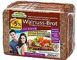 Pan de proteína cetogénica baja en carbohidratos Pan de proteína cetogénica solo 7,5 g de carbohidratos por 100 g de pan (pan de proteína de nuez)