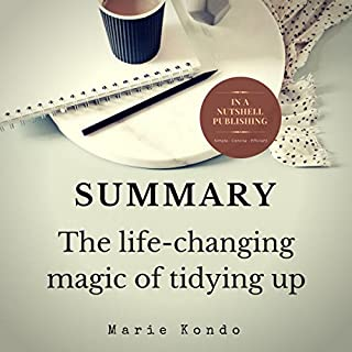 Summary: The Life-Changing Magic of Tidying Up by Marie Kondo audiobook cover art