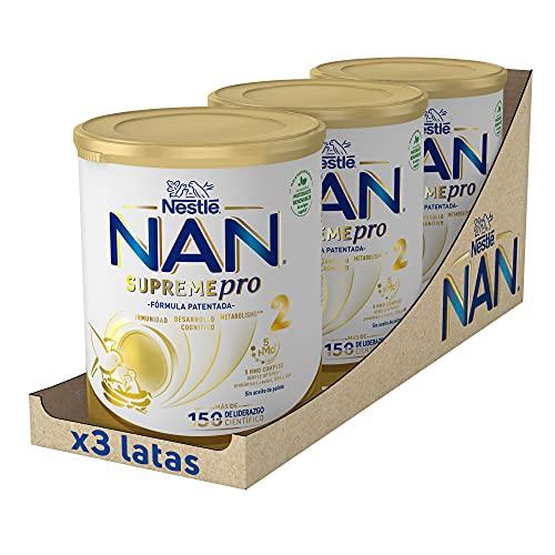 NAN SUPREMEpro 2 Leche De Continuación En Polvo Premium - 3...