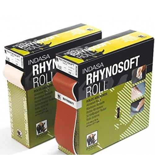 Indasa Schleifrolle Rhynosoft 115mm x 25m P120 bis P1200 GP 1,60€/m (P800)