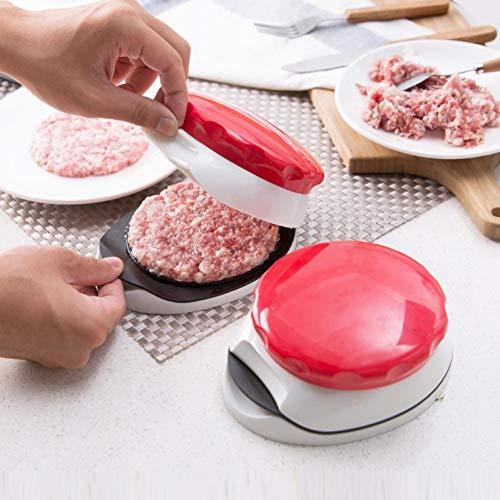 Pie Creative Hachoir Viande Masticateur Hachoir Moule Outil De Cuisine Mini Cuisine Cuisine Outil Hambourg Patty Maker pour Kitchen Aid 1pcs