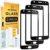 [3-PACK]-Mr.Shield For Motorola Moto X4 / Moto X (4th Generation) [Japan Tempered Glass] [9H Hardness] [Full Cover] Screen Protector with Lifetime Replacement