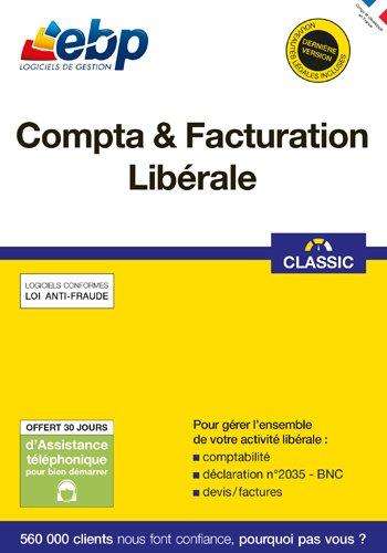 EBP Compta & Facturation Libérale - 2018 [PC Download]