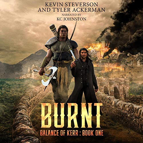 Burnt cover art