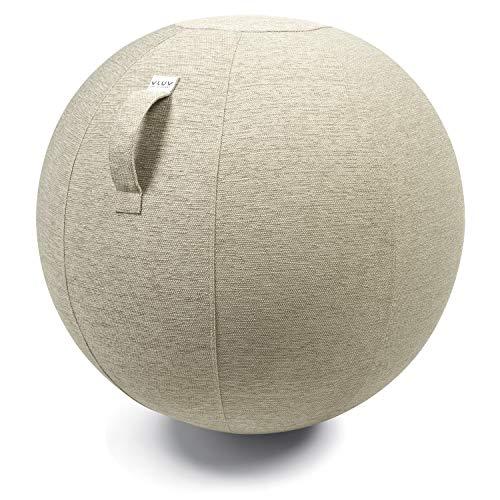 VLUV Bola para sentarse diámetro [75cm de diámetro -Beige]