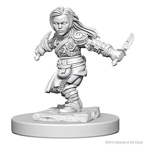 Dungeons & Dragons: Nolzur's Marvelous Unpainted Minis: Halfling Female Rogue