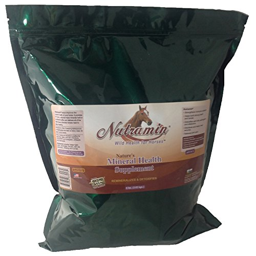 Nutramin Ion Charged Mineral Horse Supplement 8 lb Container