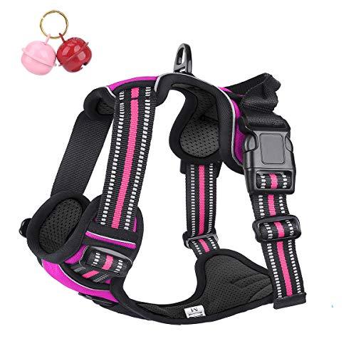 Belababy Hundegeschirr, kein Ziehen, vorne mit Clip-Griff, reflektierend, einfache Kontrolle, Outdoor, Walking, Training, Mini, M, L, Hundegeschirr,...