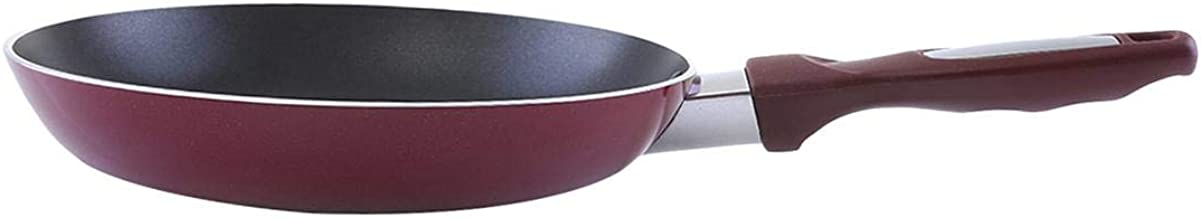 Royalford 22 cm Three Layer Non-Stick Fry Pan, Red,Stainless Steel