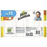 Bounty Essentials Full Sheet Paper Towels, 24 Large Rolls = 30 Regular Rolls