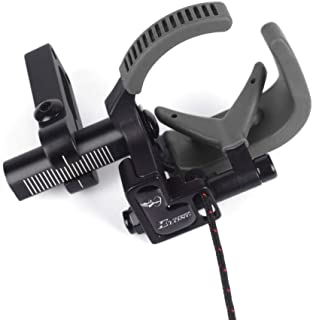 NIKA ARCHERY Arrow Rest Down Draft Cable Driven Full Containment Drop Away High Speed Landing Equipment for Compound Bow Right & Left Hand