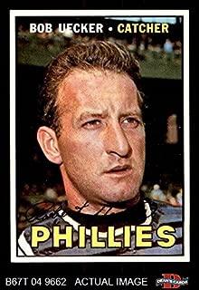 1967 Topps # 326 Bob Uecker Philadelphia Phillies (Baseball Card) Dean's Cards 6 - EX/MT Phillies