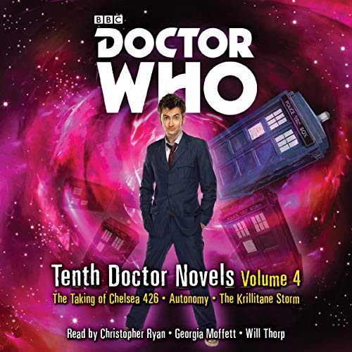 Couverture de Doctor Who: Tenth Doctor Novels Volume 4