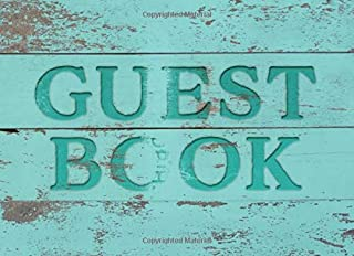 Guest Book: Rustic Vacation Home Guest Book