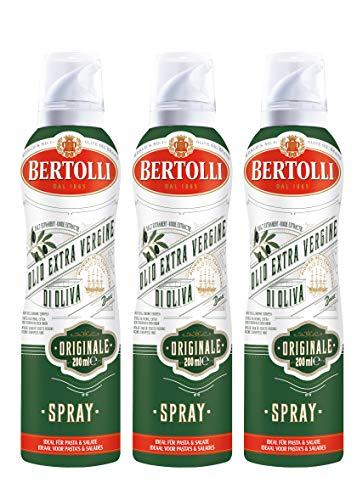 Bertolli Extra Vergine Originale Olio di Oliva Olivenöl Spray 3 x 200ml