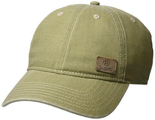 bugatti Herren Baseball Cap B307 R-927519, Grün (Grün 3), Medium (Herstellergröße: 58)