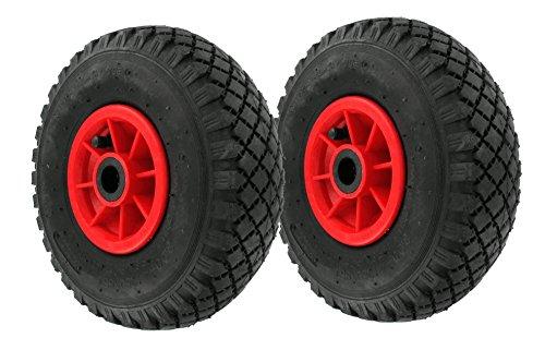 2 Stück DKB Luftrad 260 x 85 mm 3.00-4 Sackkarrenrad - Bollerwagen