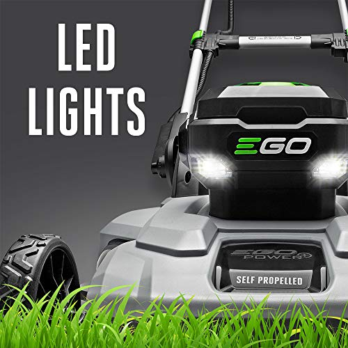EGO Power+ LM2100SP 21-Inch 56-Volt Cordless Self-Propelled Lawn Mower Battery and Charger Not Included