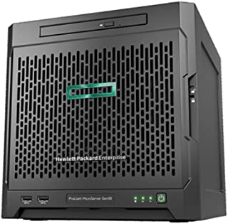 HP 惠普HPE ProLiant 服务器Gen10 X3216系列,8 GB-U, 4LFF,非热插拔,SATA,200W电源,入门级服务器 1J VOS