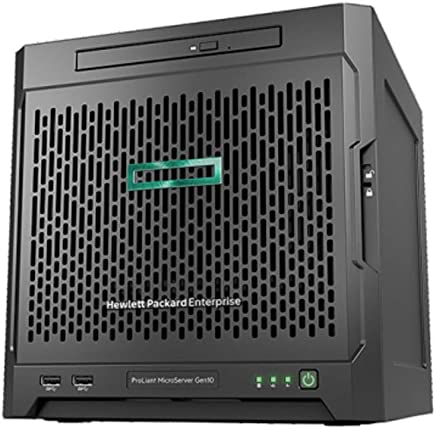 HPE Proliant Microserver gen10X3216, 8GB di U, 4lff, non Hot Plug FÃ ¤ hig, SATA, alimentatore 200W, server 1J Vos - Confronta prezzi