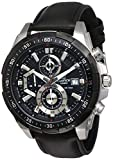 Best Casio Edifice Watches - Casio Edifice Chronograph Black Dial Men's Watch Review