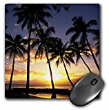 3dRose LLC 8 x 8 x 0.25 Inches Mouse Pad, Sunset Lahaina Maui Hawaii Douglas Peebles (mp_89596_1)