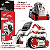 IPG for Cozmo Robot Face Screen Guard KIT Excellent Protector from Unexpected Attacks of Kids and Pets. Include Wheels & Bumpers Decoration Set (Red Pearl)