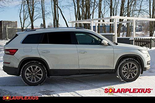 Solarplexius Sonnenschutz Autosonnenschutz Scheibentönung Sonnenschutzfolie Skoda Kodiaq SUV ab 2016
