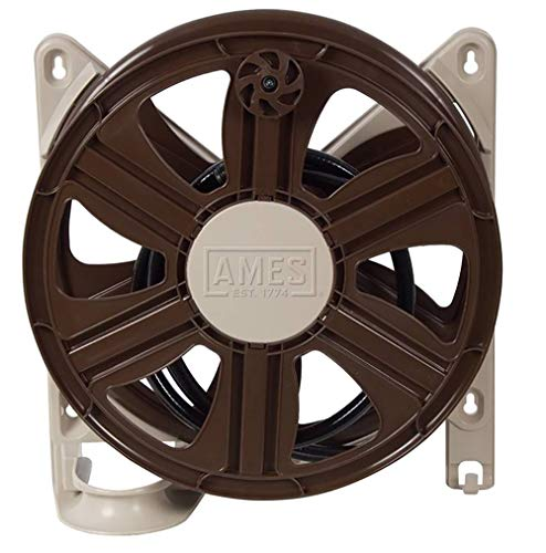AMES 2388340 ReelEasy Side Mount Reel, 100-Foot Hose Capacity