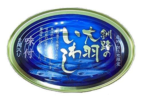 マルハニチロ北日本 釧路の大羽いわし味付 200g ×12個