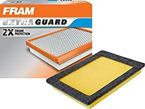 FRAM Extra Guard Air Filter, CA9687 for Select Ford and Lincoln Vehicles