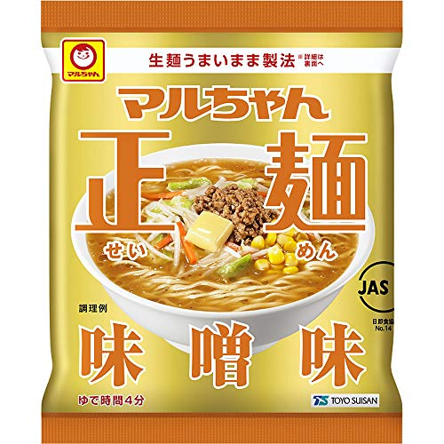 10位(同率):東洋水産『マルちゃん正麺味噌味』