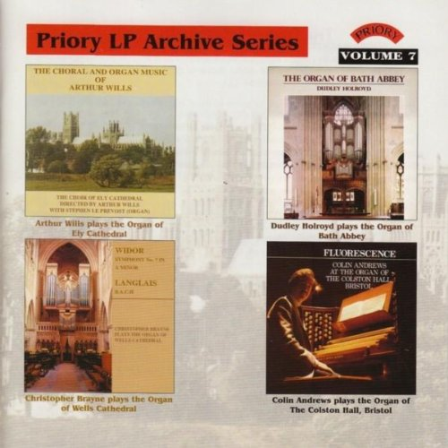 LP Archive Series - 7 Organ of St. Albans Cathedral / Colston Hall, Bristol / Wells Cathedral / Ely Cathedral / Bath Abbey
