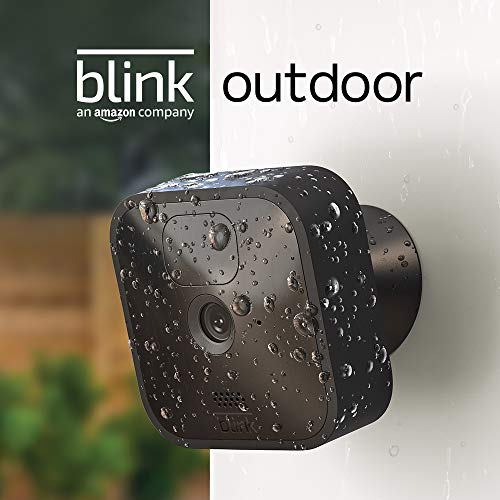 Blink Outdoor – wireless, weather-resistant HD security camera with two-year battery life and motion detection, set up in minutes – Add-on camera (Sync Module required)