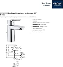 GROHE BauEdge OHM basin -23328000
