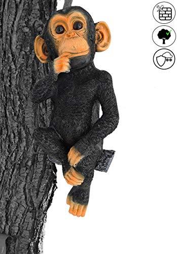 Gartendeko Schimpanse