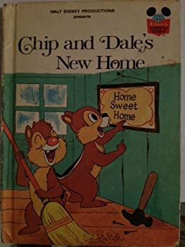 Chip and Dale's New Home - Book  of the Disney's Wonderful World of Reading