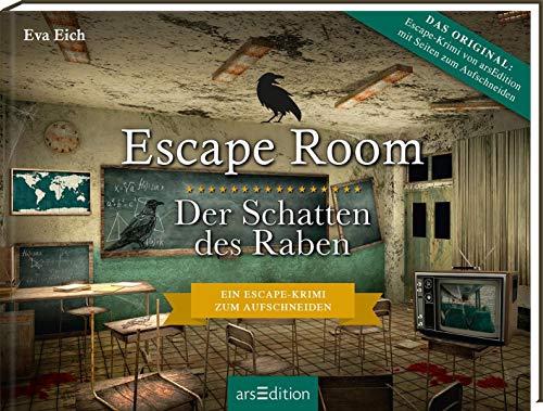 Escape Room. Der Schatten des Raben. Ein Escape-Krimi zum Aufschneiden: Das Original. Ein Escape-Room-Thriller zum Aufschneiden