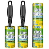 Best Lint Brushes - Commema Lint Rollers for Pet Hair Extra Sticky Review