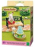 Sylvanian Families - 4535 - Set banco y fuente de jardín
