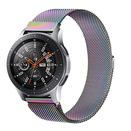 Senka 22mm Metal Correa Compatible con Samsung Galaxy Watch 3 45mm/Galaxy Watch...
