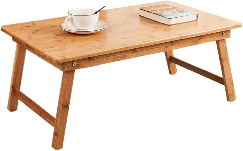 en venta en línea XHCP Mesa Plegable Mesa de té Pequeña Pequeña Pequeña Mesa de Mesa de bambú Tatami Mesa Baja Cama Plegable Comedor Ventana de la bahía Mesa Cuadrada (Tamaño  S)  diseño simple y generoso